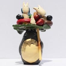 Cute Totoro Cartoon Miyazaki Hayao My Neighbor Totoro Action Figure Collectible Model Toy Free Shipping