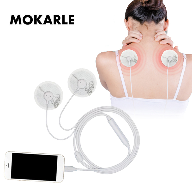 Multi Function Mobile Phone Control Massage Device 6 Mode Muscle Stimulator for Body Healthy Care Mini USB Smartphone Massager in Massage Relaxation from Beauty Health