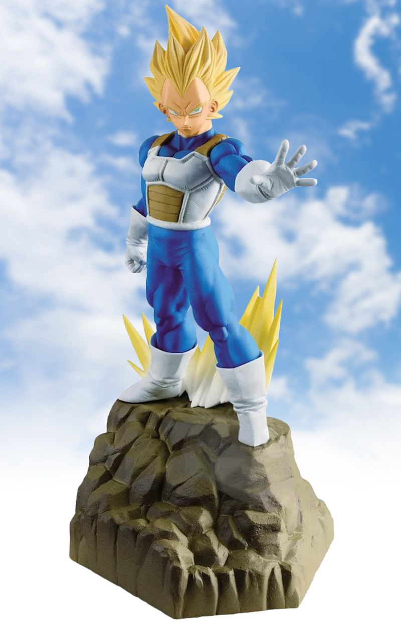 WSTXBD BANPRESTO Original Dragon Ball Z DBZ Absolute Perfection Figure SSJ Vegeta Toys Figurals Model Dolls Brinquedos VOL.02 wstxbd banpresto original dragon ball z dbz smsp goku manga color pvc figure toys figurals model dolls brinquedos