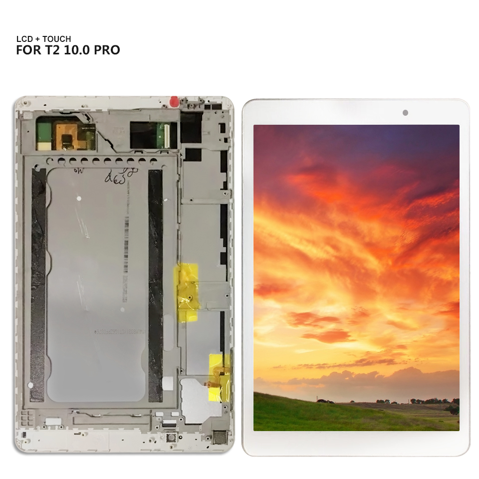 For Huawei MediaPad T2 10.0 Pro Touch Screen Digitizer Lcd Display Assembly + Frame For FDR-A01L FDR-A01W FDR-A03 LCD