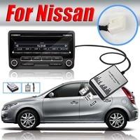 1 set Auto MP3 USB SD AUX adattatore CD Changer Digitale Nuovo USB SD AUX Adattatore Per Auto MP3 Audio Interfaccia CD Changer Per Nissan