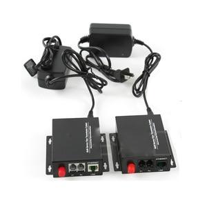 Image 4 - Convertisseur de médias optiques de Fiber de téléphone de voix de PCM de 2 canaux de haute qualité avec le mode unique dethernet FC 20Km