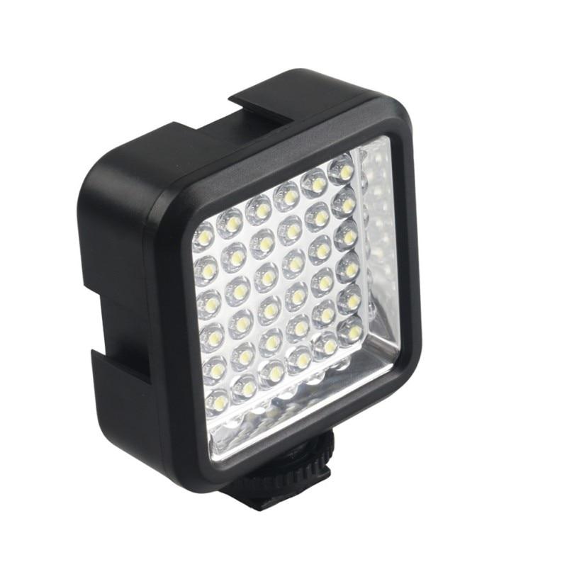 Original 4 2V 4W Video Light 36 LED Lights Lamp Photographic Lighting 5600K For Canon Camera