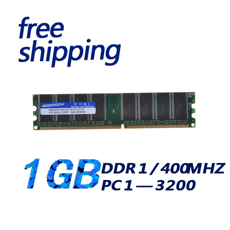 KEMBONA New Low-density ddr1 <font><b>1GB</b></font> pc3200 <font><b>ddr400</b></font> 184pin Desktop memory <font><b>ddr400</b></font> non-ecc Module free shipping image
