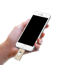 New Style USB Flash Drive For iPhone X 8 7 Plus 6 5 5S ipad Android Metal OTG 8gb 32gb 64gb Pendrive