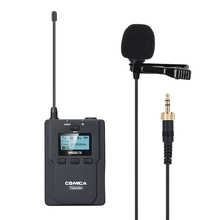 CoMica CVM-WM200TX UHF 96-Channels 120M Working Distance Metal Wireless Microphone w One Transmitter Powered by AA Batteries