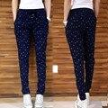 YONO Novas Das Mulheres Da Forma Calças de Verão Finas Soltas Palazzo Hippie Calças Lápis Calças Harem Baggy Pantalon Femme Plus Size 5XL
