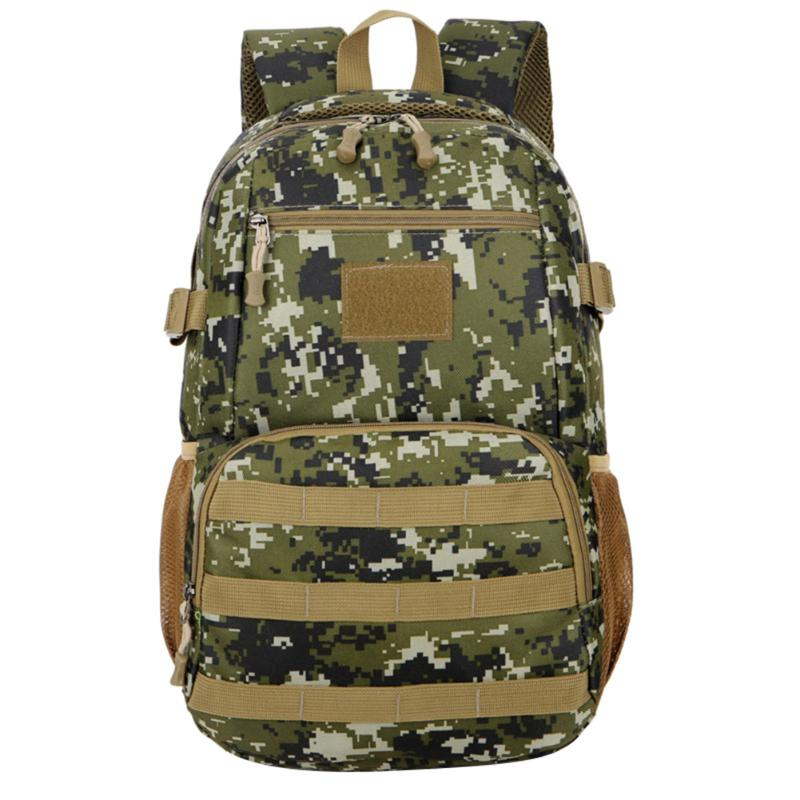 Oxford Tactical Army Military Assault Rucksack Outdoor Sports Camo Bag Backpack Hiking Climbing Travel Back Pack Multifunctional lqarmy 3 day expandable backpack with waist pack large rucksack tactical backpack molle assault bag for day hiking tan