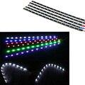 15LED/30 cm à prova d' água Tira CONDUZIDA 3528 12 V DC SMD High Power LED Flexível Car Tiras 2 pçs/lote