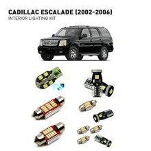 Led interior lights For Cadillac escalade 2002-2006 19pc Lights Cars lighting kit automotive bulbs Canbus Error Free