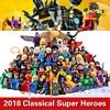 2017 64pcs LOT Marvel DC Suoer Heroes Batman Deadpool Iron Man Harley Quinn Robin Building Blocks