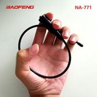 5r bf Baofeng NA771 אנטנת הרווח NA771 מכשיר קשר אנטנת SMA-F 39cm UHF VHF איתותים רחבות מגבר עבור UV-5R BF-888S UV-82 (2)