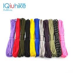 Парашютный шнур IQiuhike, 208 цветов, 550, шнур, веревка, Mil Spec, Тип III, 7 нитей, 5 метров, инструмент для альпинизма, кемпинга, выживания