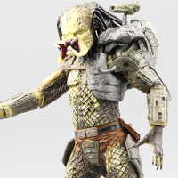 Free delivery of genuine NECA predator alien P1 Ganso soldier Elder Predator model