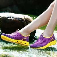 TOURSH Flat Shoes Women Sandals Beach Shoes Womens Swimming Water Shoes Super Light Spring Summer Air