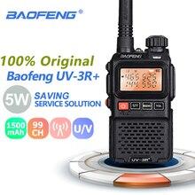 Baofeng UV-3R + плюс мини портативной рации портативный UHF VHF двухстороннее радио ФИО Comunicador УФ 3r Hf радиоприемник приемопередатчика Uv3r Woki Токи