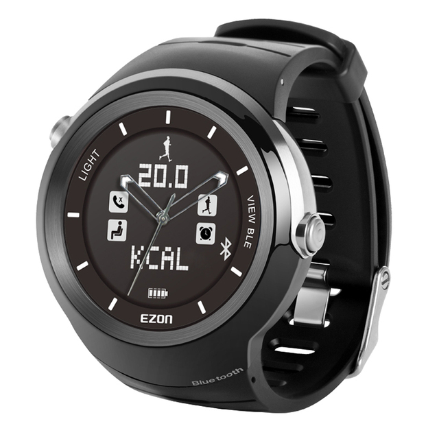 ezon watch S3A01 profession mens sports swimming training waterproof digital smart outdoor pedometer wristwatch
