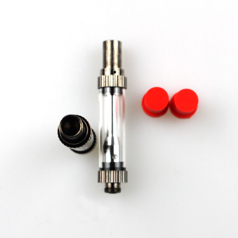 5pcs/lot Amigo Liberty V1 Thick Oil Tank Atomizers Vape Pen Vaporizer Glass Tank 510 Cartridge 0.5ml 1.0ml Glass Tank Amigo