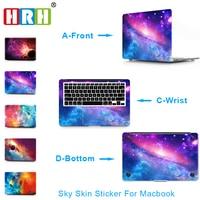 HRH Sky Guards Track Protective Film Skin Sticker For MacBook Air Pro Retina 11 12 13