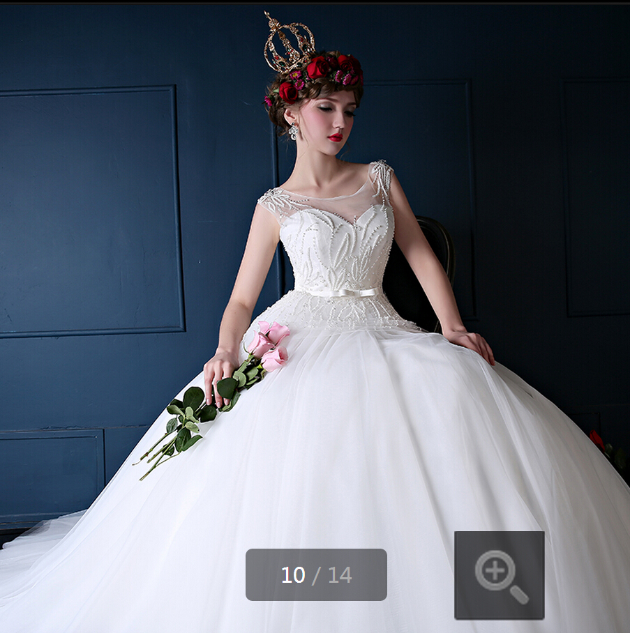 2015 amazing white a line beading sequined corset wedding dresses floor length sashes bow hollow back bridal gown