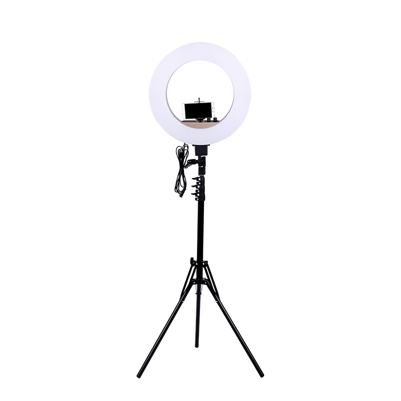 Gold Photo Studio Ring Light  18 inch LED Video Lamp Photographic Lighting 55W 5500K 480LED Digital LightsGold Photo Studio Ring Light  18 inch LED Video Lamp Photographic Lighting 55W 5500K 480LED Digital Lights