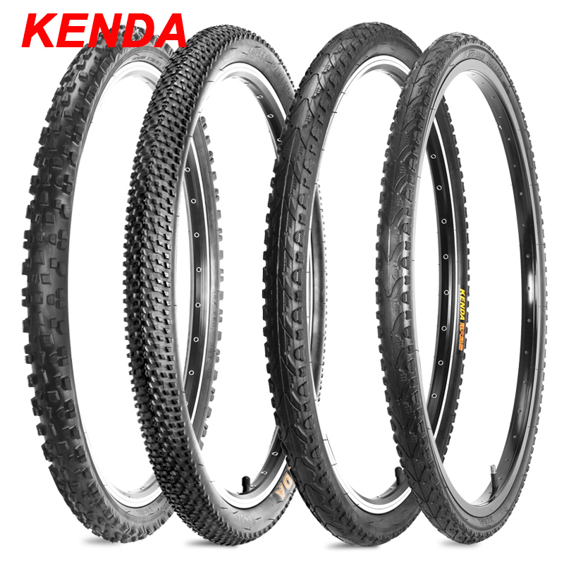 Kenda Bicycle Tires 26x1.5/1.95/2.1 Road MTB Bike Tire Mountain Bike Tyre For Bicycle 26 Commuter/Urban/Hybrid Tires Bike kenda slick bicycle tires 26x1 5 mtb road bike tyre rubber slick tread tires for bicycle competition training bike tire 60 tpi