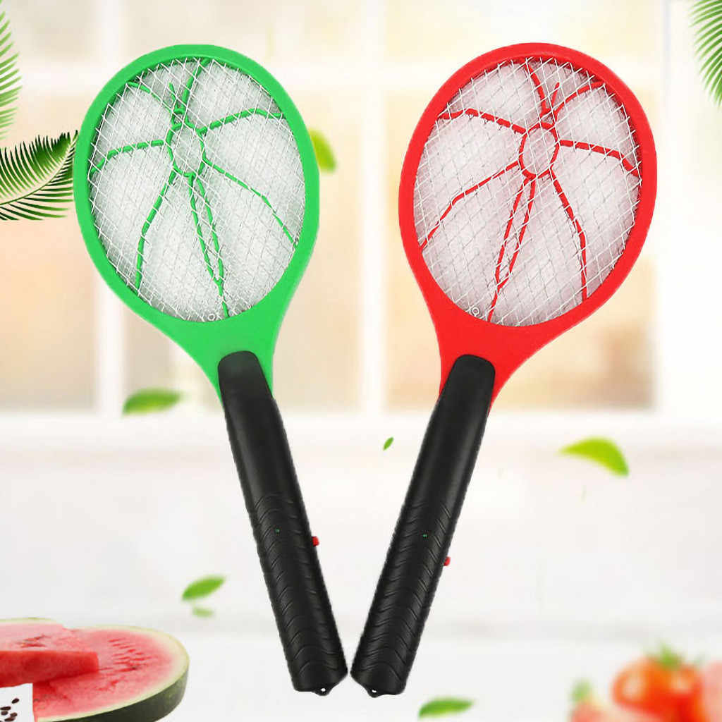 Mosquito Swatter Electric Insect Fly Handheld Racket Killer Protect Human Giant Hand Shaped Swatter Fly Killer vliegenmepper