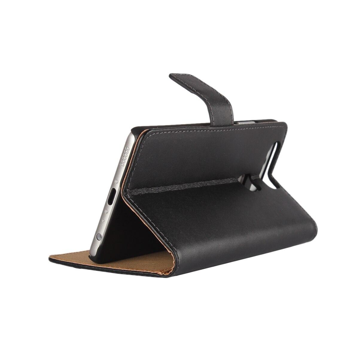 Väska till Huawei P9 täcka Premium PU-läderplånbok Väska Flip - Reservdelar och tillbehör för mobiltelefoner - Foto 5