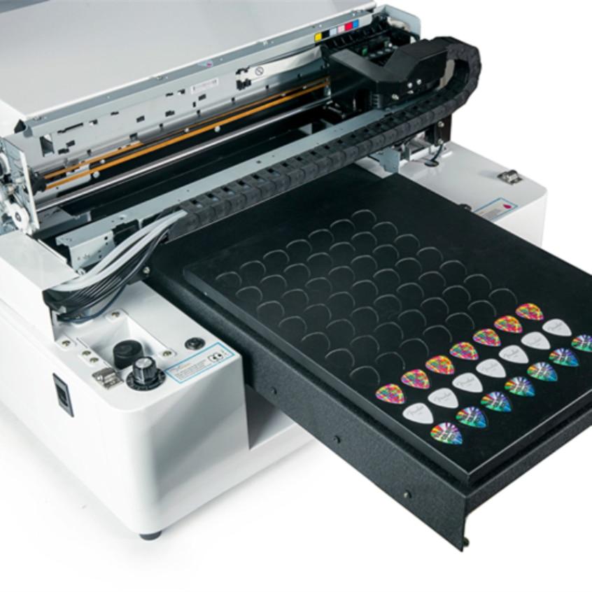 High Quality Digital Flatbed Printer Uv Guitar Pick Printer