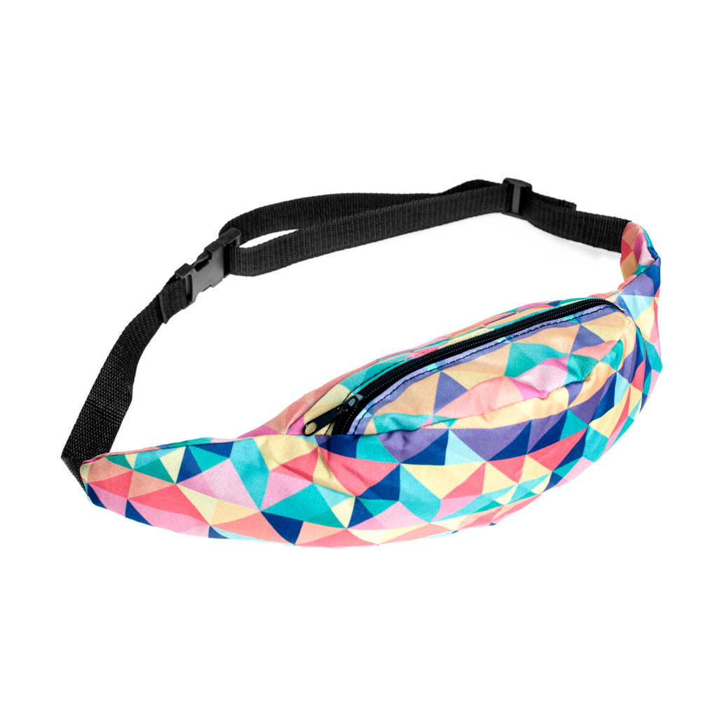 2018 3D Print Belt Bags Men Unisex waist fanny Bag Hip Money Belt Travelling Mountaineering Mobile Phone Bag Waist Packs
