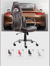 racing game chair home computer lifting rotation PU leather stool white black red chair free shipping