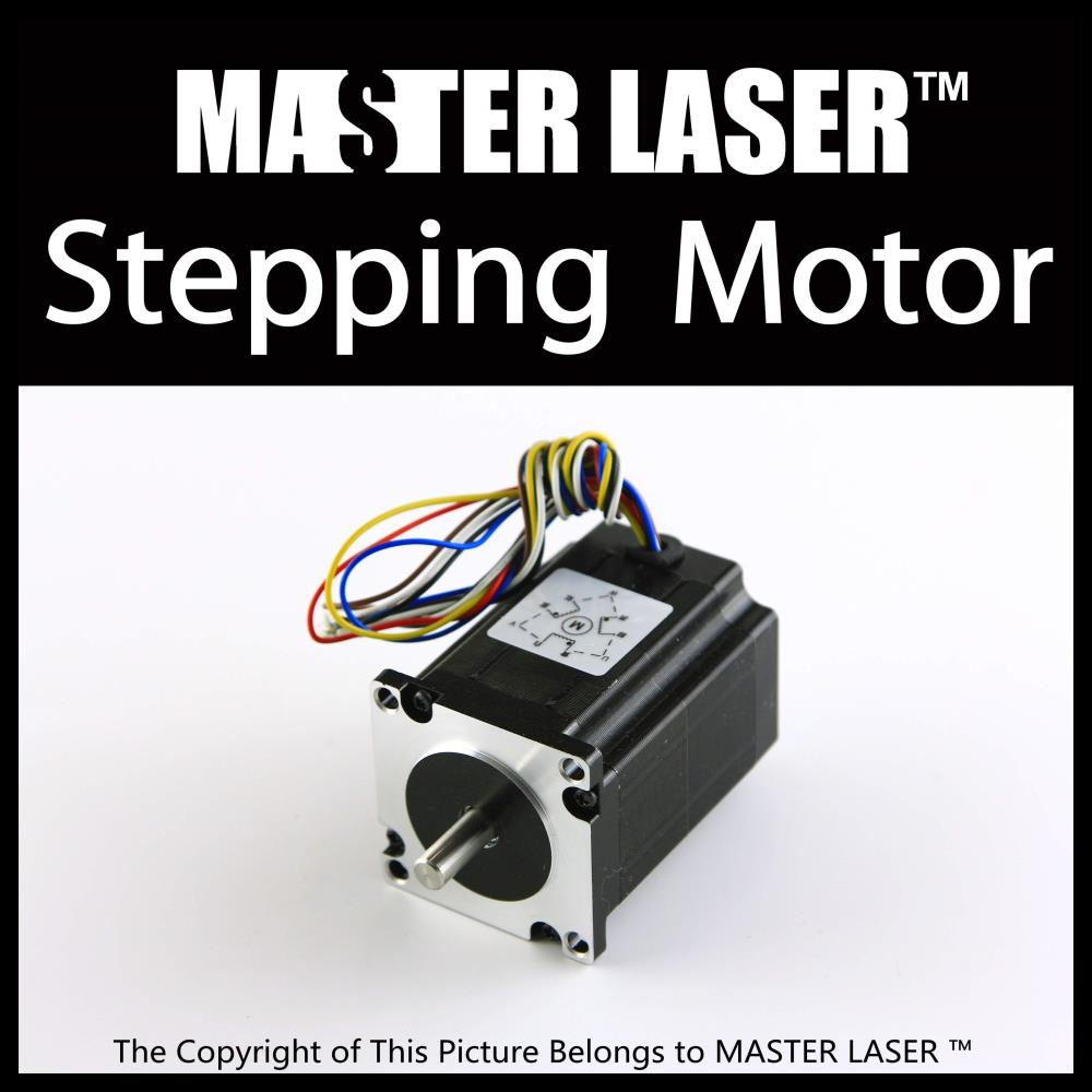 Leadshine Stepping Motor for Laser Engraving/Cutting Machine Stepper Motor 573s15 leadshine 2 phase stepping motor drive ma860h for laser engraving cutting machine stepper motor driver