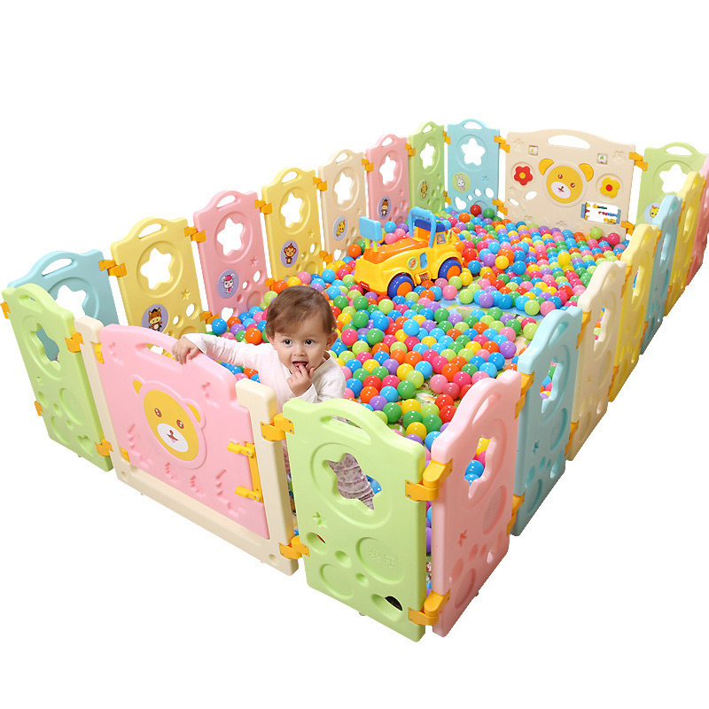 Indoor Baby Playpens for Activity Gear Kids Safety Play Yard Indoor Children Place Fence Environmental Protection Outdoor
