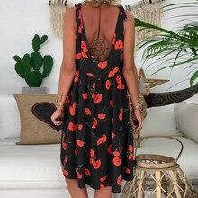 Women's Summer Floral Print Dress
