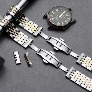 Image 3 - Carouse Stainless Steel Metal Watchband Bracelet 12mm 14mm 16mm 18mm 20mm 22mm Watch Band Wrist Strap Black Silver Rose Gold