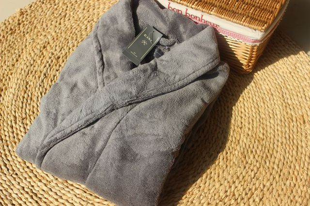 2016 de Inverno Homens Outono Salão de Manga Comprida Sleepwear Coral Fleece Roupão De Banho de Luxo Engrossar Mens Hommes Roupão Quimono Roupões de Banho