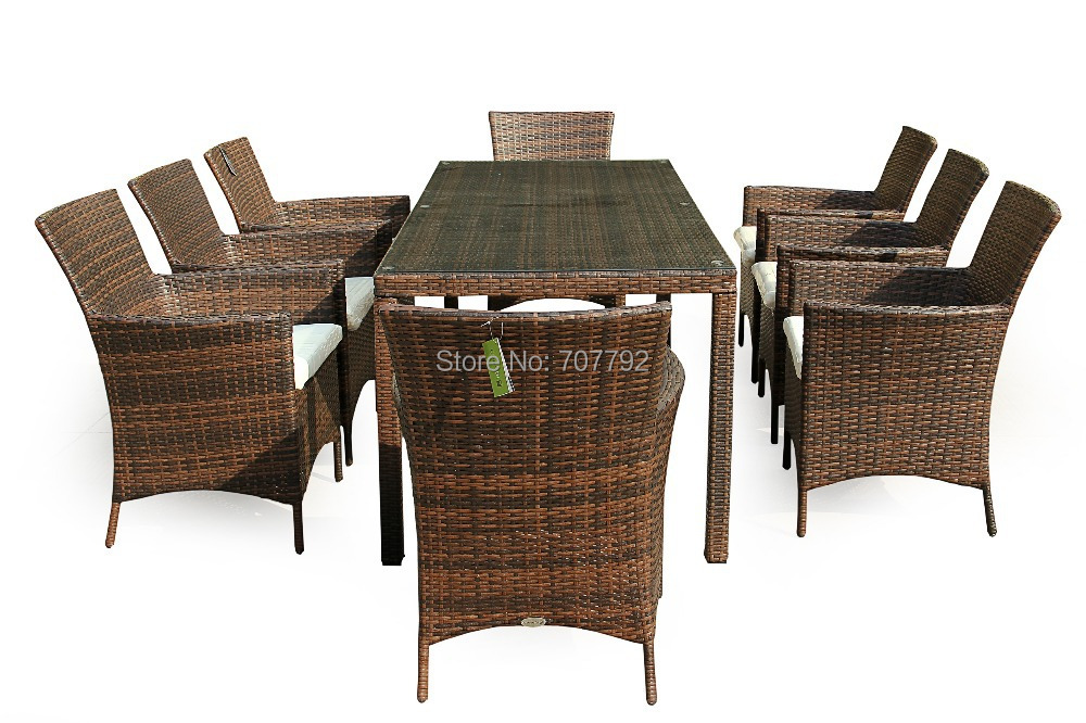 Sigma New Style SG-12022B outdoor rattan wicker table and chairs
