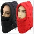 Moda inverno chapéu para o homem e mulher chapéu cabeça quente fleece inverno máscaras de ouvido protegido máscara de esqui chapéus snowboard cap