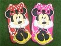 2015 Dos Desenhos Animados 3D Bow Minnie Mouse Silicone Suave Voltar Phone casos para samsung galaxy ace 4 g357fz g357 cobre livre grátis