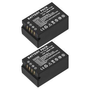 Image 4 - Pour Fujifilm NP T125 NP T125 BC T125 de batterie chargeur de batterie pour Fujifilm GFX 50S GFX50S GFX 50R GFX50R GFX 100 poignée de VG GFX1