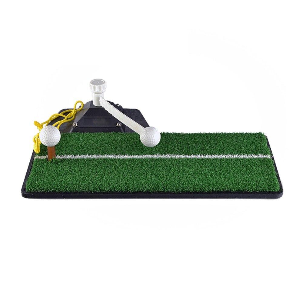 Entraîneur de balançoire de Golf PGM dispositif de pratique de Golf intérieur Portable entraînement de Golf tapis de pratique de frappe HL001 - 3