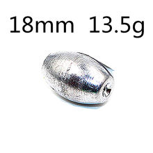 5Pcs/lot Water Lead Fishing Sinker Tools Rock Rod Pesca Acesorios Tackle Box Accessories 5g/10g/15g  WD-123
