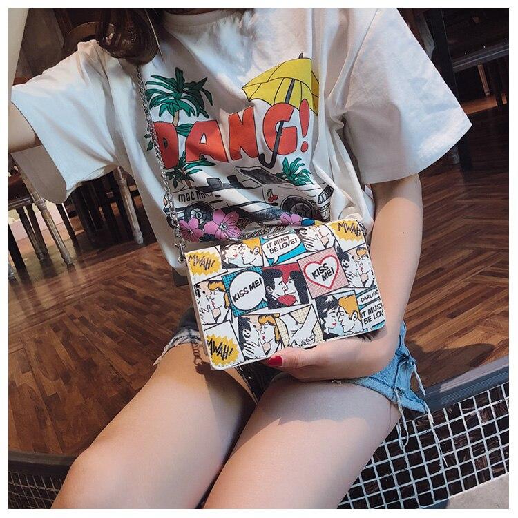 Bolsa Feminina Revista em Quadrinhos