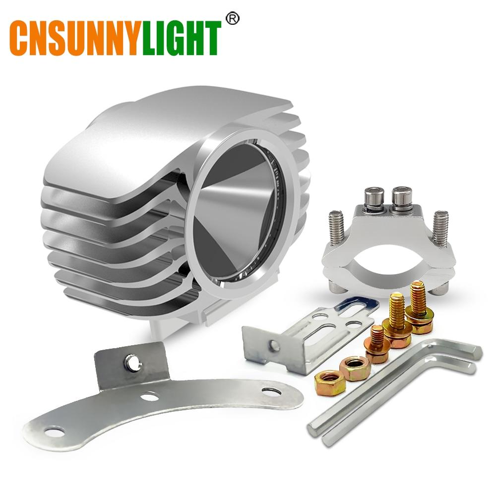 CNSUNNYLIGHT Motorbike LED Headlight 15W 2250Lm Car Plus <font><b>Fog</b></font> DRL <font><b>Light</b></font> <font><b>for</b></font> Scooter/E-bike/Truck/ATV/UTV/SUV/Motorcycle Headlamp