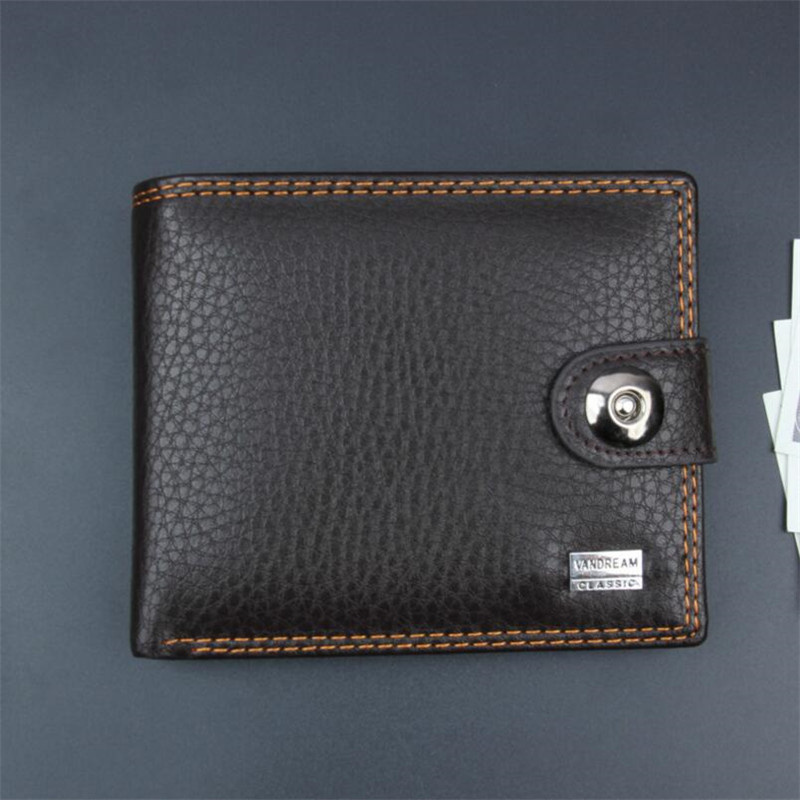 купить Black PU Leather Small Men Wallet Vintage Mini Male Wallets Short Male Hasp Coin Purse Credit Card Holder Purses Money bag по цене 284.23 рублей