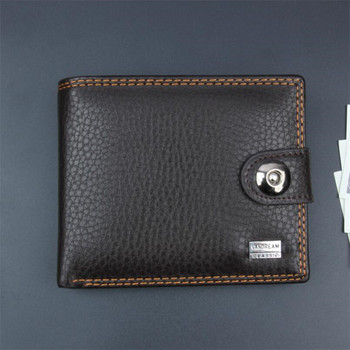 Black PU Leather Small Men Wallet Vintage Mini Male Wallets Short Male Hasp Coin Purse Credit Card Holder Purses Money bag piroyce genuine leather men wallets with coin bag hasp mens wallet male money purses wallets multifunction men wallet