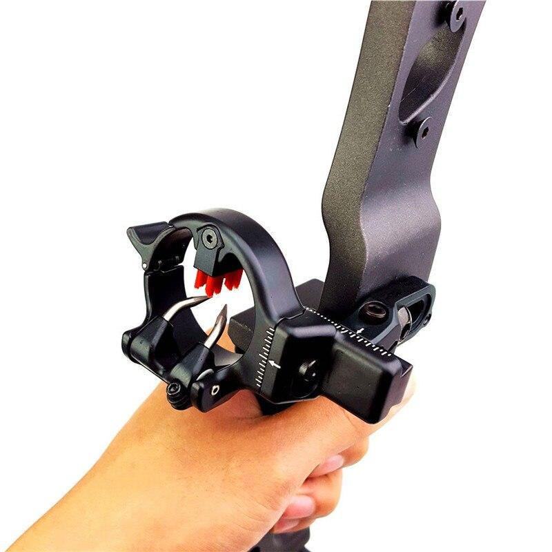 Boogschieten Pijlsteun Micro Verstelbaar Opvangpenseel Rechterhand - Jacht - Foto 3
