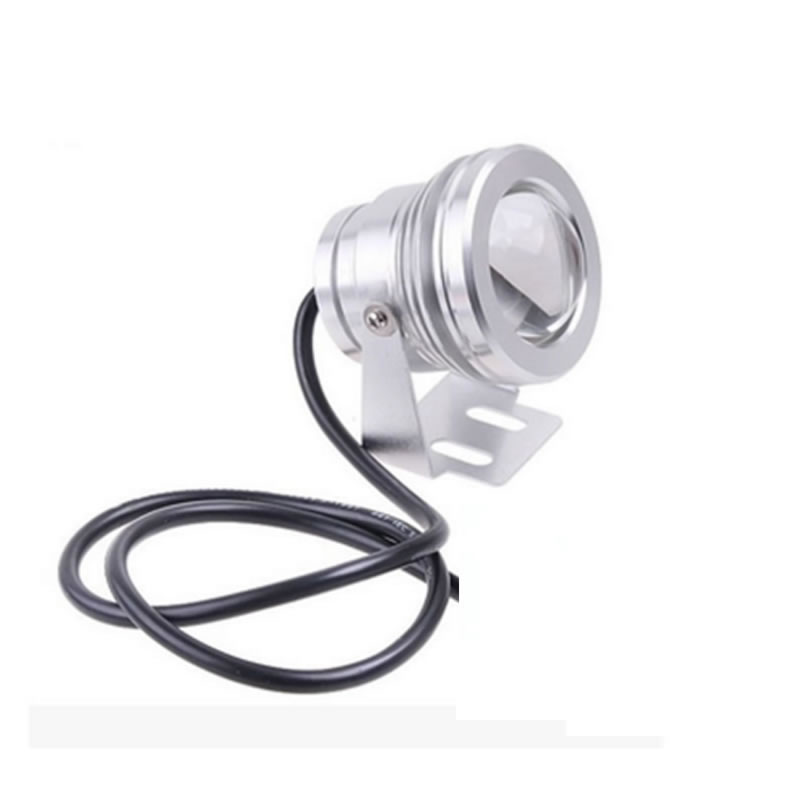 10W 12v underwater Warm White Cool White Led Light 1000LM Waterproof IP68 fountain pool pond Lamp Lights Submersible Light in LED Bulbs Tubes from Lights Lighting