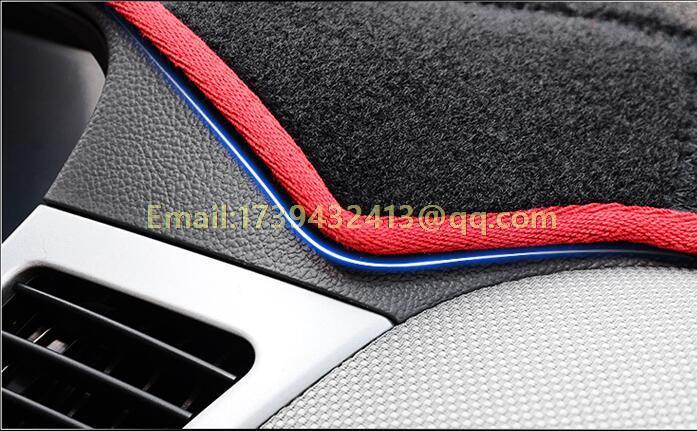 Dashmats araba-styling aksesuarları Toyota Corolla Axio Altis için - Araç Içi Aksesuarları - Fotoğraf 5