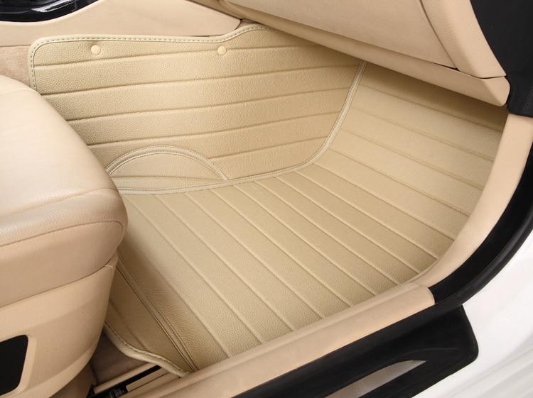 ФОТО 5seats five seats car seat cushion waterproof XPE material non slip full surrounded car floor mats for SUV QASHQAI wear resistan